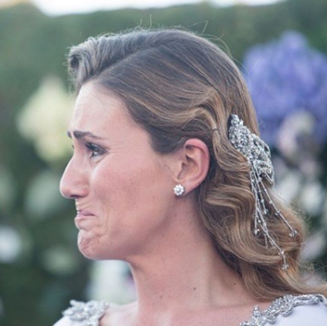 Carlota Corredera, Carlota Corredera se emociona al recordar su boda