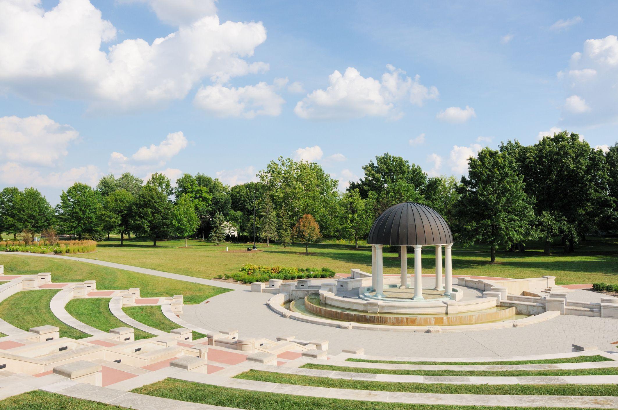 Coxhall Public Garden in Carmel Indiana