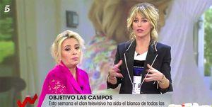 Carmen Borrego enfadada