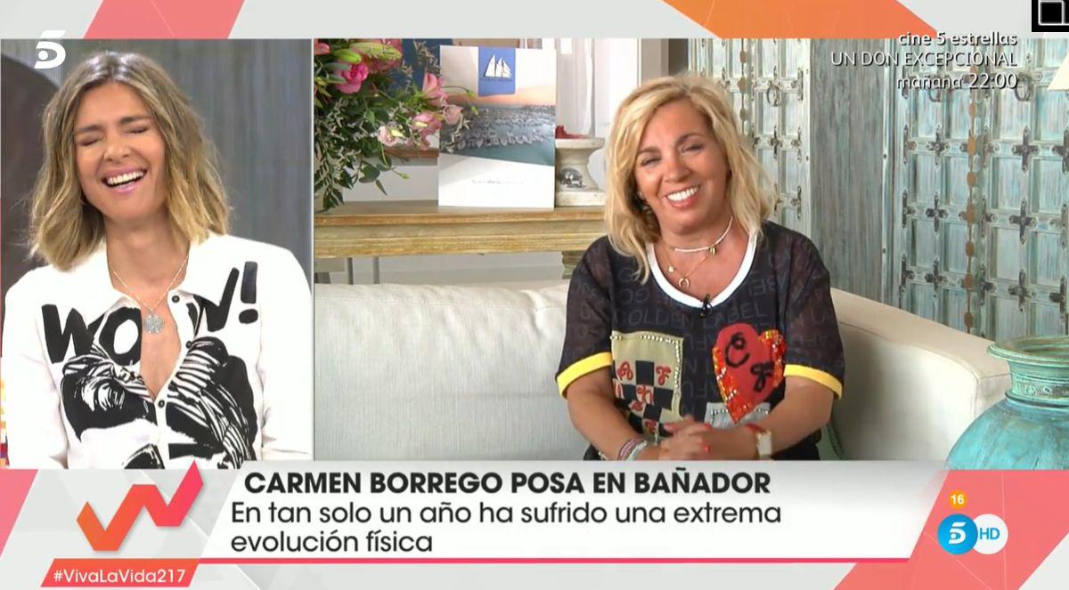 Con Se Carmen Enfrenta Críticas Terelu Comparaciones Borrego A Las Y qMVpUGLzS