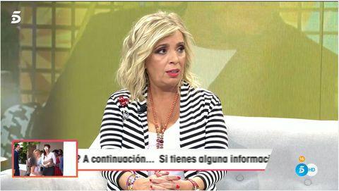 Carmen Borrego, Sálvame, Viva la vida, Las Campos