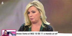 Carmen Borrego da la versión de Rocío Carrasco