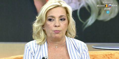 carmen borrego se defiende de las críticas de la hija de edmundo arrocet, carmen borrego, viva la vida, hija de maría teresa campos
