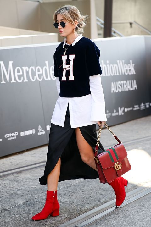 Street Style - Mercedes-Benz Fashion Week Australia 2016