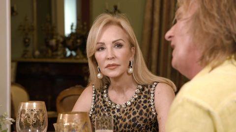 Carmen Lomana casa,Carmen Lomana ven a cenar conmigo, Ven a cenar conmigo,Carmen Lomanay Miriam Saavedra,Carmen Lomana estilo