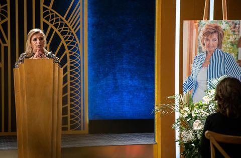 María Teresa Campos funeral 'El cielo puede esperar'