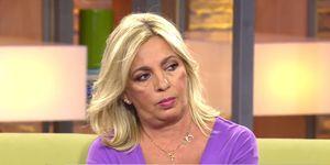 Carmen Borrego defiende a Bigote Arrocet en 'Viva la vida'