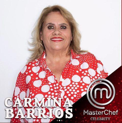 masterchef celebrity concursantes carmina barrios