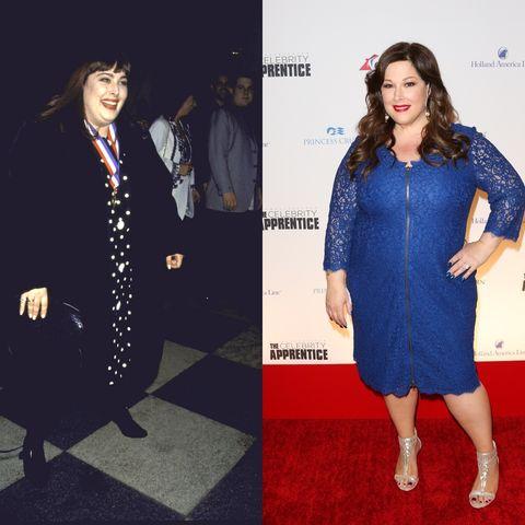 best celebrity weight loss transformations: carnie wilson