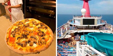 Pizza, Dish, Cuisine, Food, Junk food, Quiche, Italian food, Ingredient, Baked goods, Pizza cheese,
