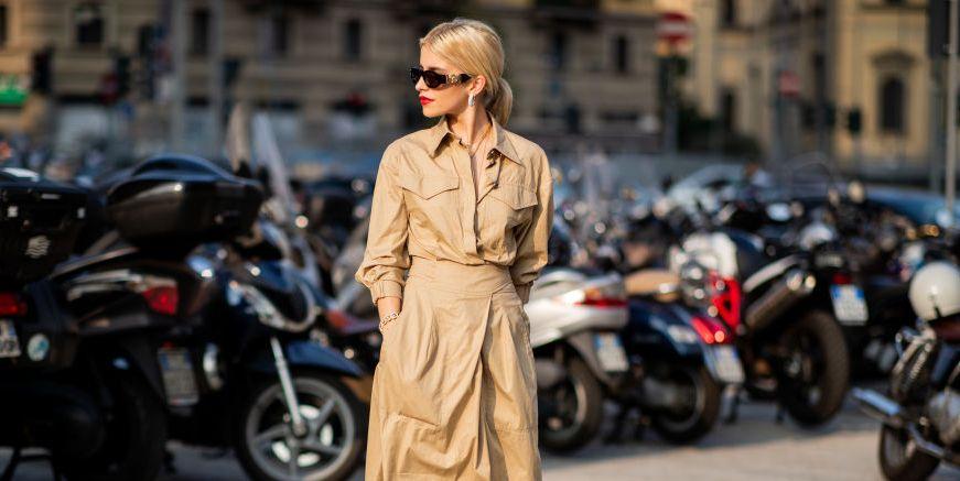 caro daur trenchcoat beige streetstyle 2019