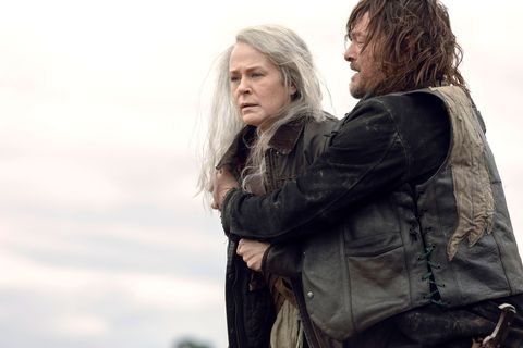 Walking Dead Boss On Whether Daryl And Carol Romance Could