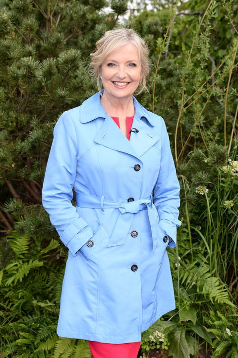 london, england   may 20 carol kirkwood attends  the rhs chelsea flower show 2019 press day at chelsea flower show on may 20, 2019 in london, england photo by jeff spicergetty images