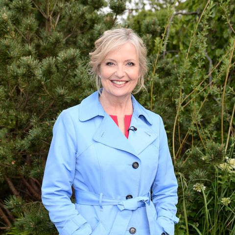 BBC Breakfast's Carol Kirkwood delights fans in Valentine's outfit