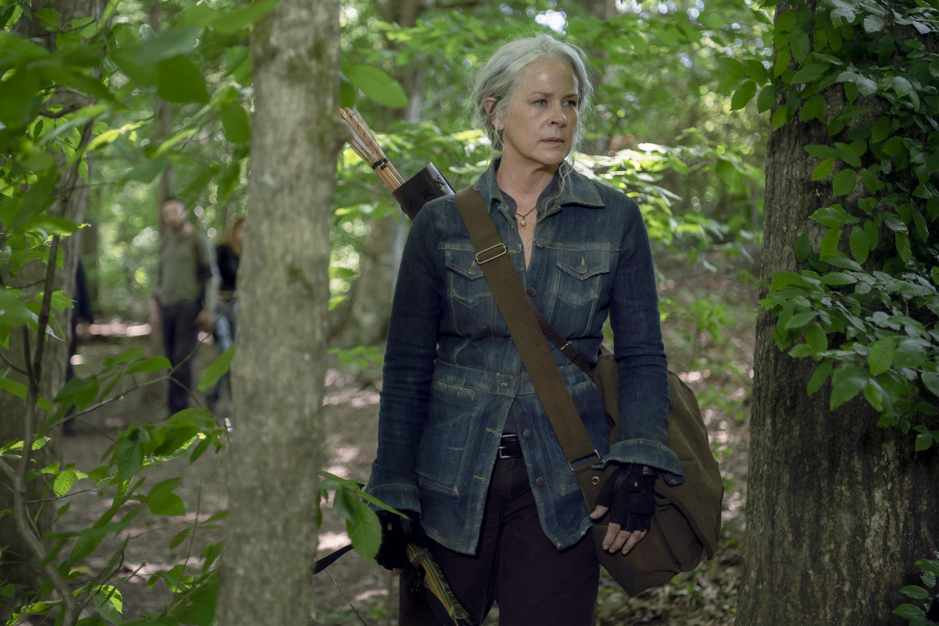 """The Walking Dead star Melissa McBride is """"extremely surprised"""" Carol survived this long"""