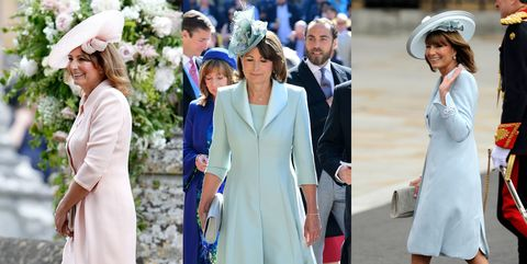 17b64bf4d93d7 Carole Middleton Best Fashion Looks - Kate and Pippa Middleton's ...