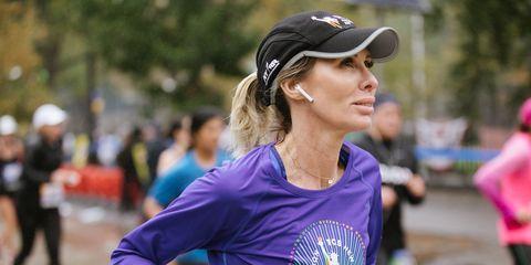 Carole Radziwill NYC Marathon