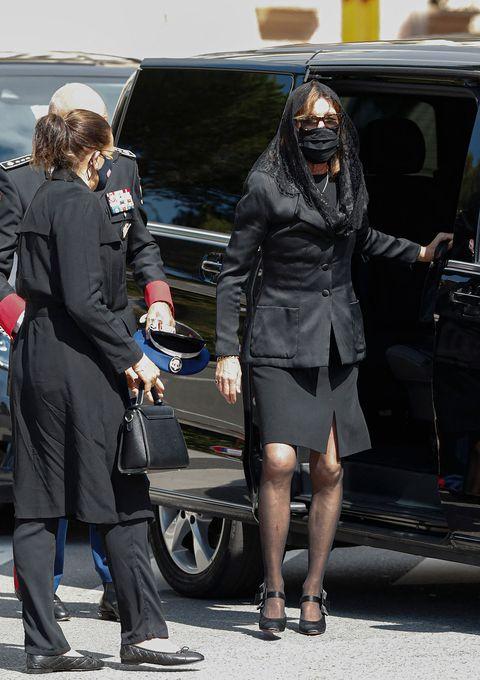 la familia real de mónaco se reúne en el funeral de elizabeth ann de massy