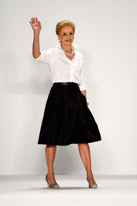 ceb73cd14ad Today will see Carolina Herrera's final show with her eponymous label