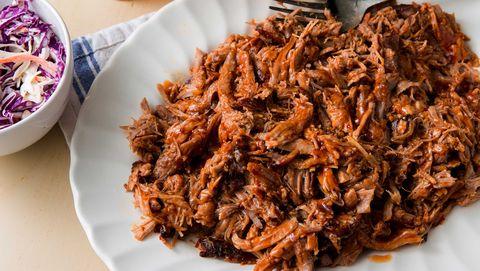 Dish, Food, Cuisine, Chilorio, Ingredient, Cochinita pibil, Pulled pork, Barbacoa, Meat, Machaca,