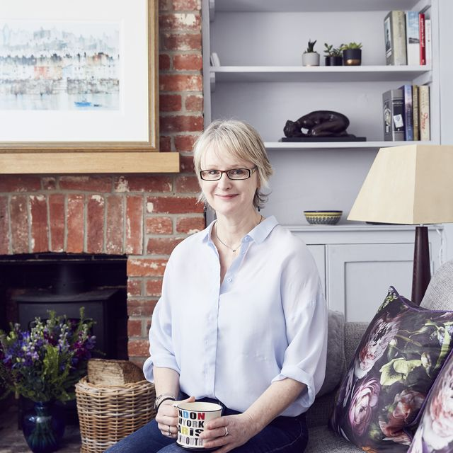 caroline bloor recently sold her family home in favour of a traditional two bedroom cottage in tunbridge wells, kent