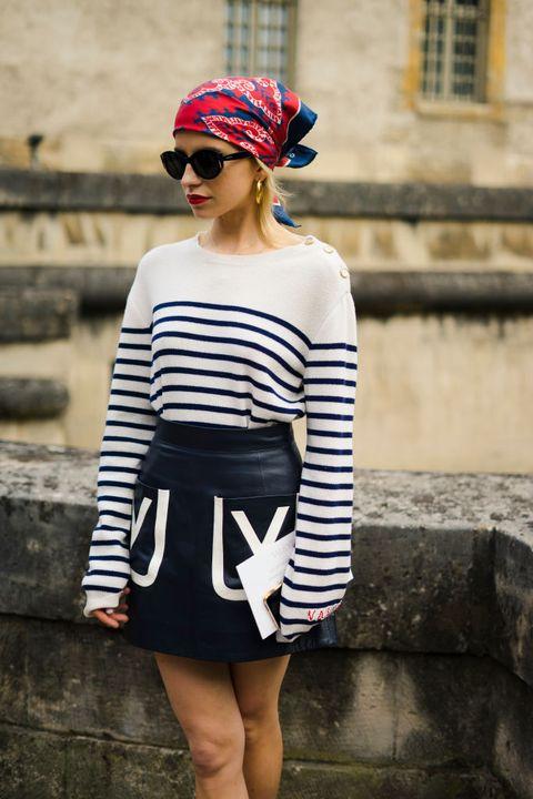 street style paris fashion week womenswear springsummer 2019 day seven