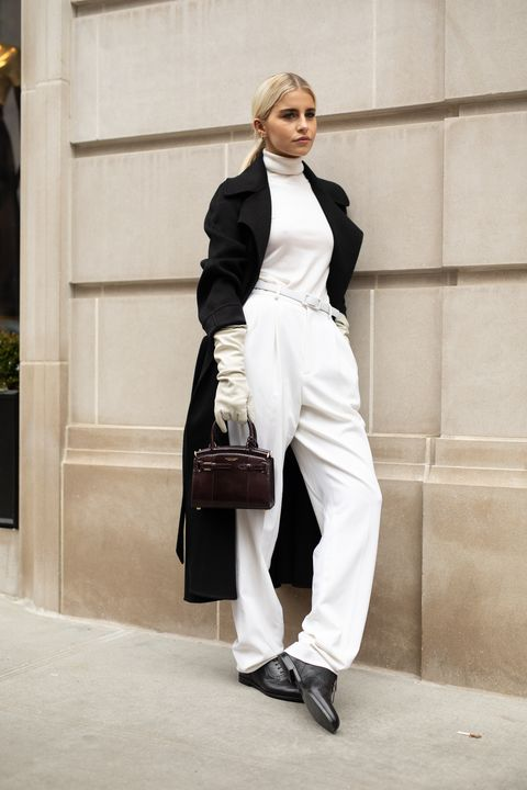 Street Style - New York Fashion Week February 2019 - Day 1