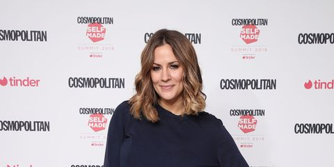 Caroline Flack bij Cosmopolitan's Self Made Summit