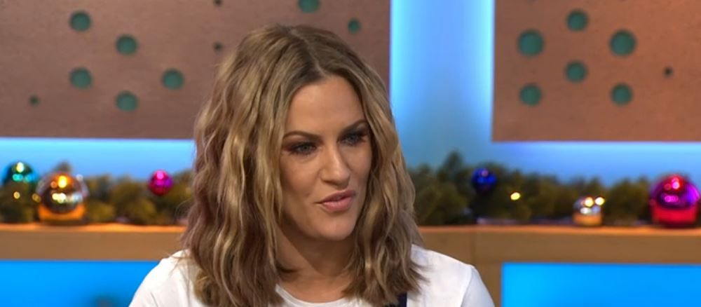 Caroline Flack poses naked – and gets trolled by Love Island contestant