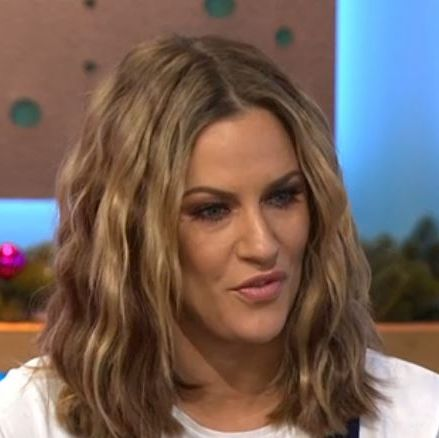 Love Island's Caroline Flack isn't impressed at being quizzed about her relationship with Harry Styles