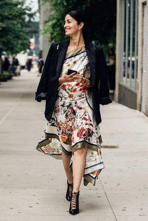 Clothing, Street fashion, Photograph, Shoulder, Fashion, Fashion model, Snapshot, Outerwear, Dress, Footwear,