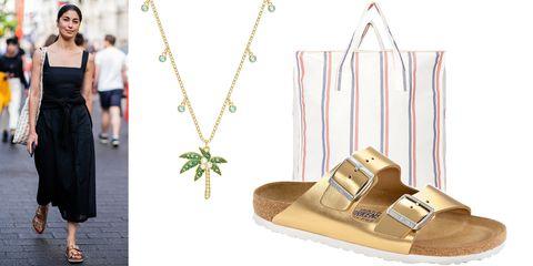Footwear, Shoe, Fashion, Sandal, Fashion accessory, Beige, Jewellery,
