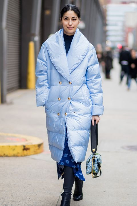 Street Style - New York Fashion Week February 2018 - Day 5
