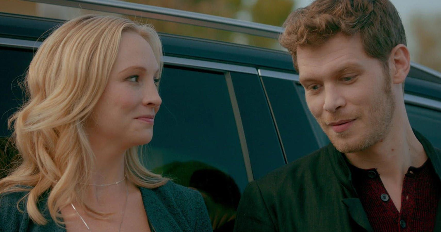 Candice King Says The Vampire Diaries Scene Between Caroline And Klaus Was Scary