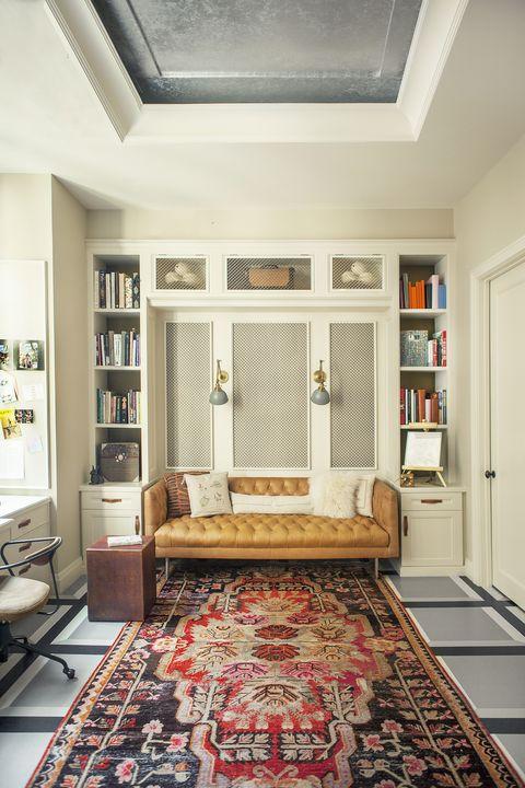 Room, Ceiling, Interior design, Furniture, Property, Floor, Building, Wall, Home, Carpet,