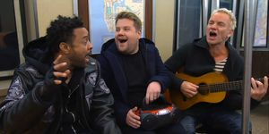 James Corden, Sting y Shaggy