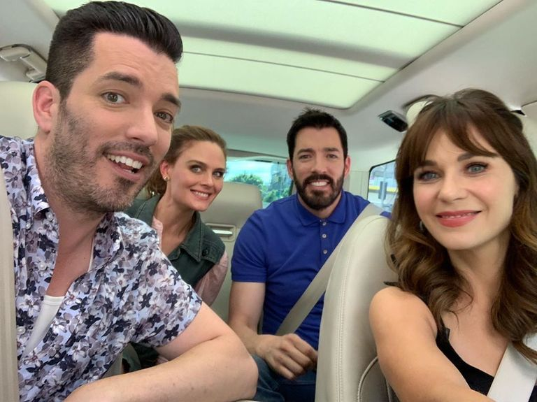 Zooey Deschanel Is Reportedly Dating Property Brothers' Jonathan Scott After They Were Spotted Holding Hands