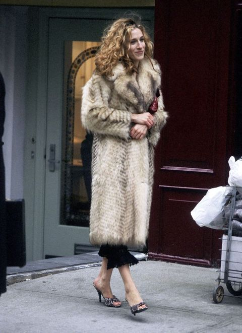 sarah jessica parker in 1998 in new york