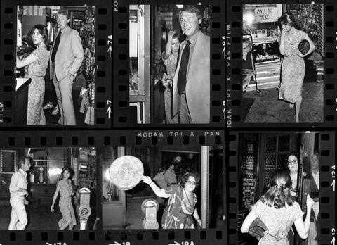 Richard Dreyfuss, Carrie Fisher, Elaine Kaufman et Mike Nichols ont été vus au restaurant d'Elaine - 3 juin 1978