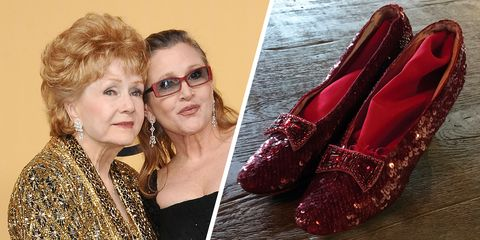 debbie reynolds carrie fisher auction