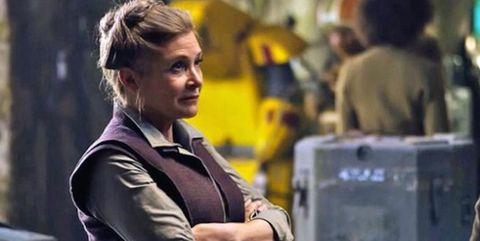 Carrie Fisher,Star Wars: Episodio VII - El despertar de la Fuerza