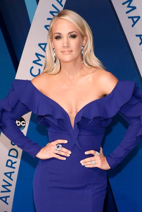 """Carrie Underwood """"I never eat meat and try to eat totally vegan, which is easiest when I cook for myself,"""" Carrie told Cosmopolitan in 2017. """"We hardly ever take out or eat out because I don't like to...I like knowing what's in my food, and it's hard to tell when someone else makes it for you."""""""