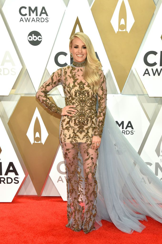 Carrie Underwood and Husband Mike Fisher Have Officially Arrived to the 2019 CMAs