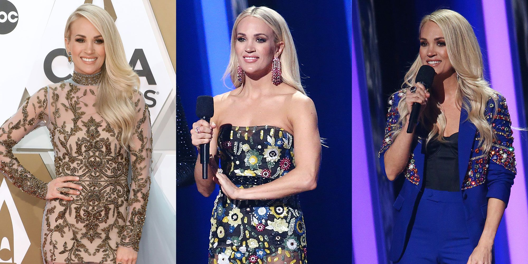 God Bless Carrie Underwood and the 9 Different Outfits She Wore at the CMA Awards