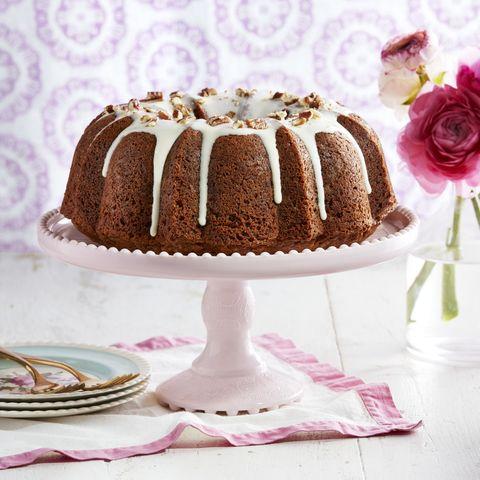 carrot cake cream cheese drizzle