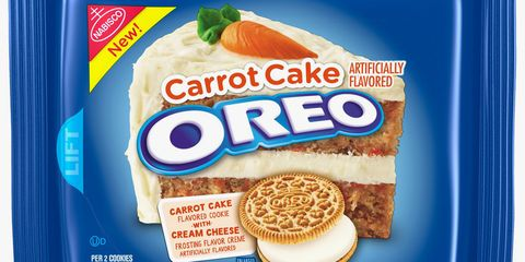 Carrot Cake Oreos Are On Shelves Now And They Have Cream Cheese