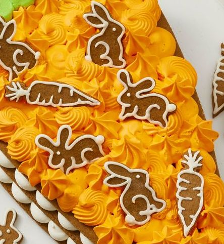 carrot cookie cake