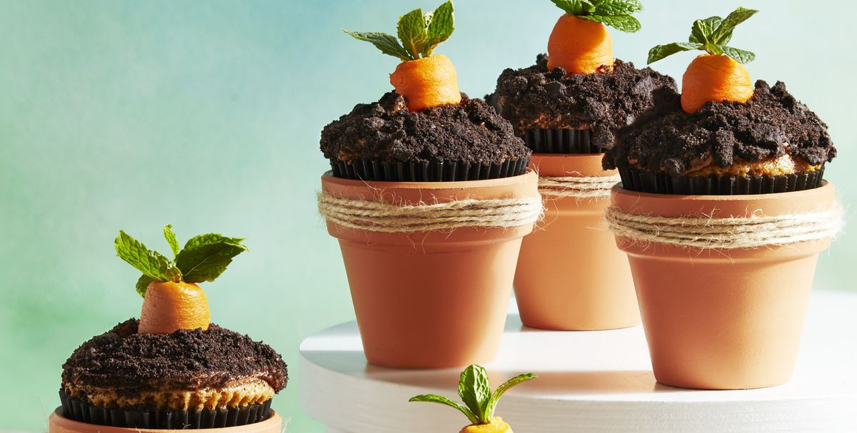 These Carrot Patch Cupcakes Will Be a Huge Hit at Your Easter Party
