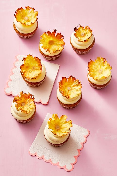 carrot pineapple cupcakes