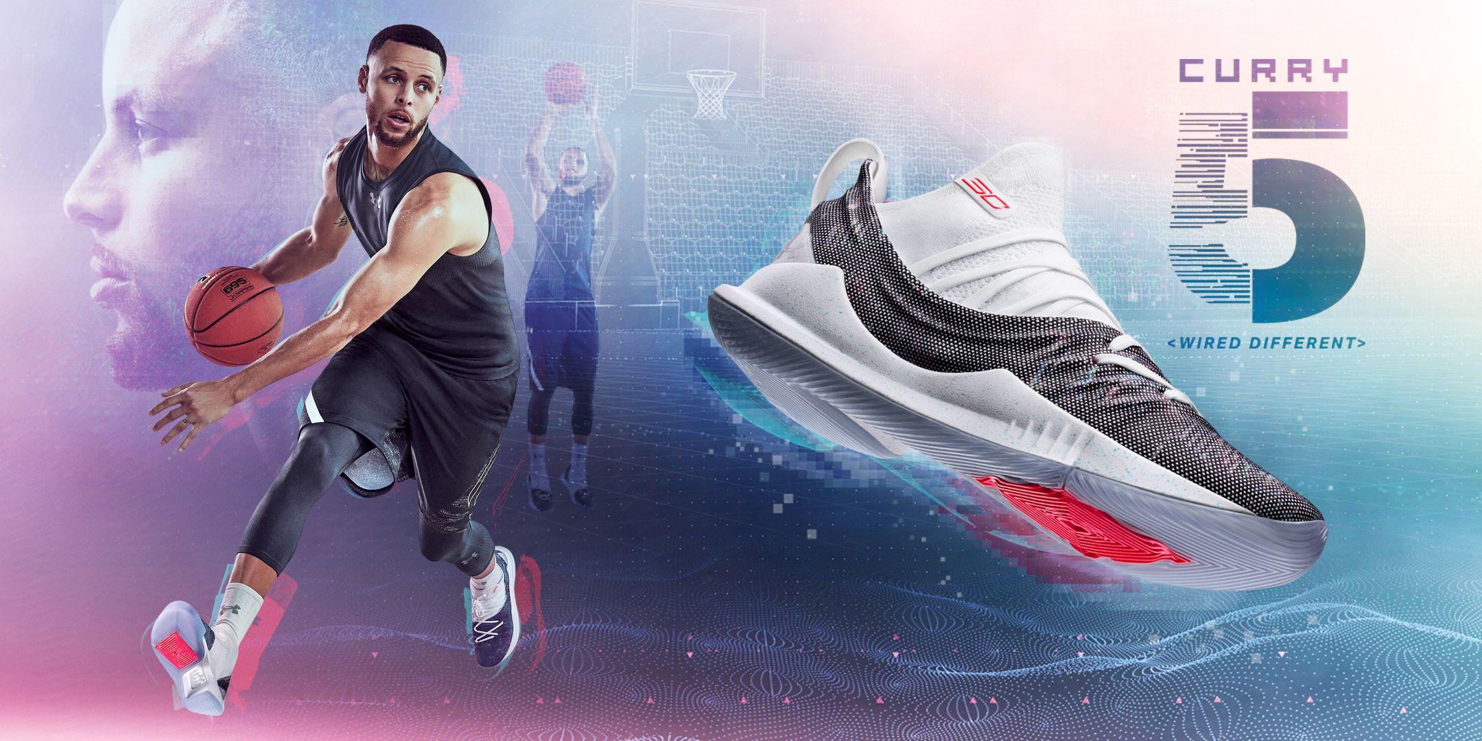 zapatos under armour para basketball team